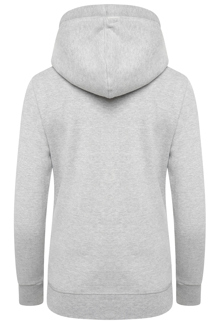 SUPERDRY ORANGE LABEL ELITE ZIP HOODIE - ELITE GREY MARL
