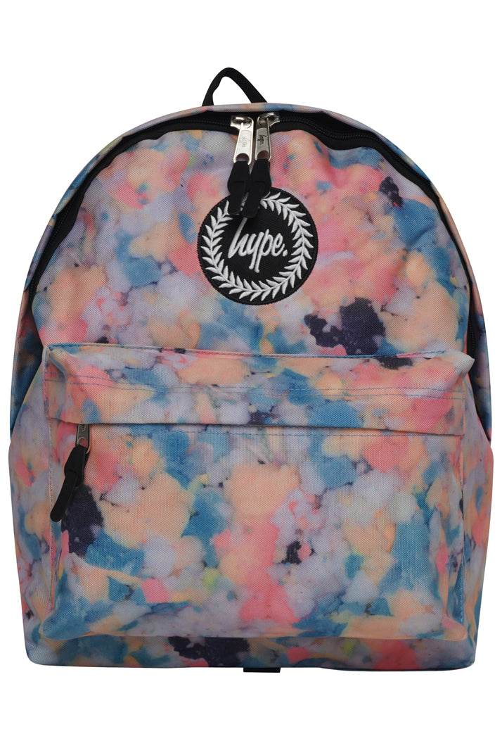 HYPE PASTEL SPONGE BACKPACK RUCKSACK BAG - MULTI