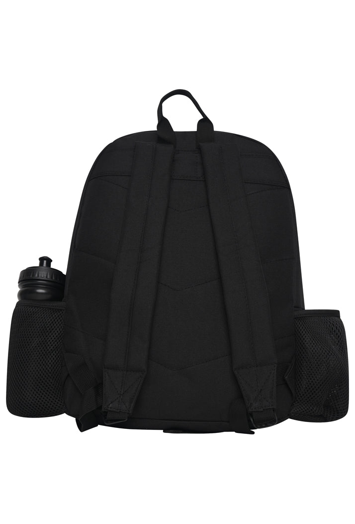 HYPE CREST BOTTLE  BACKPACK RUCKSACK BAG - BLACK