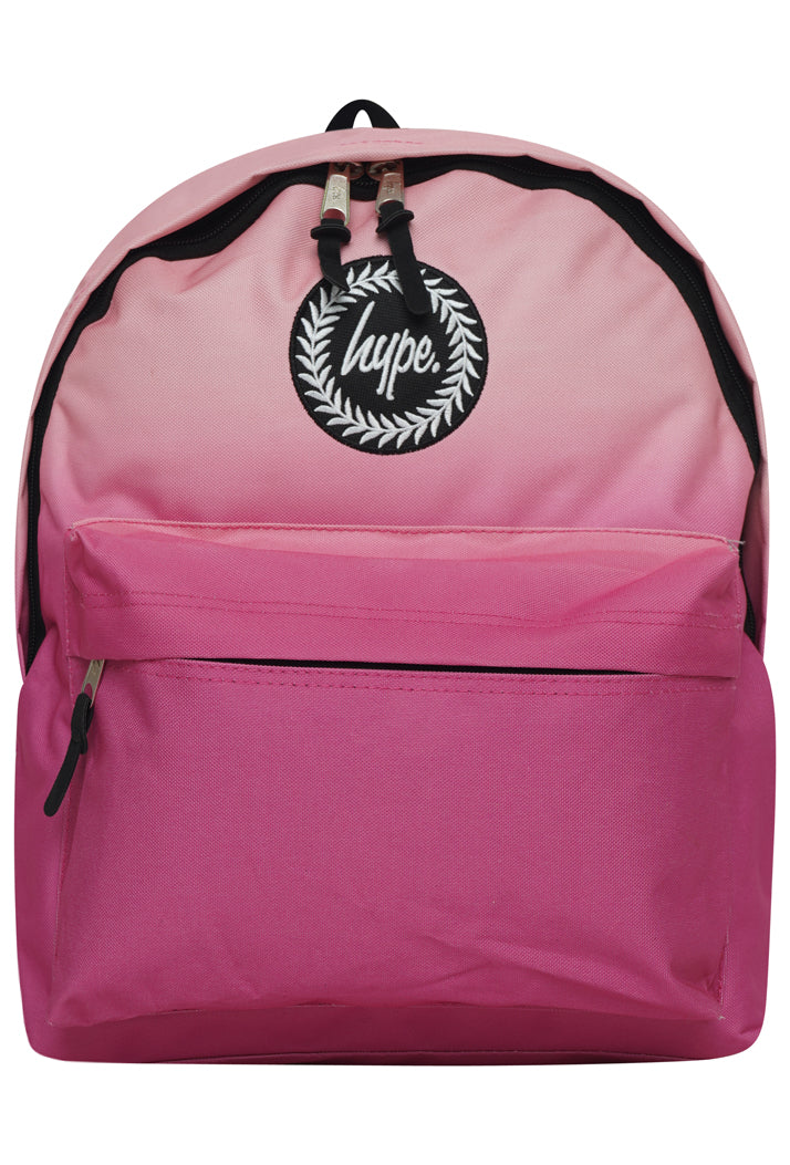 HYPE FADE BACKPACK RUCKSACK BAG - PEACH/PINK