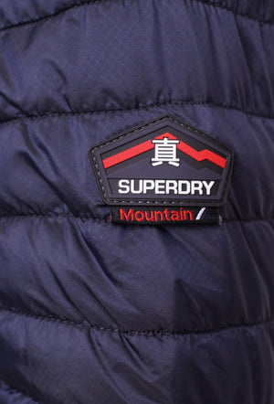 SUPERDRY FUJI DOUBLE ZIP JACKET - NAVY