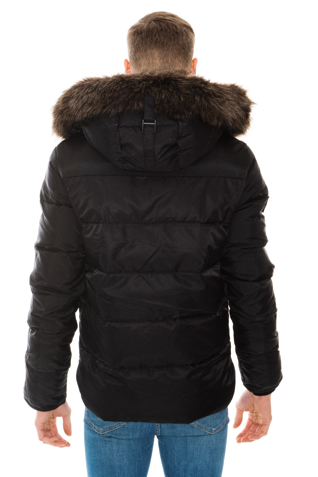 SUPERDRY CHINOOK JACKET - BLACK