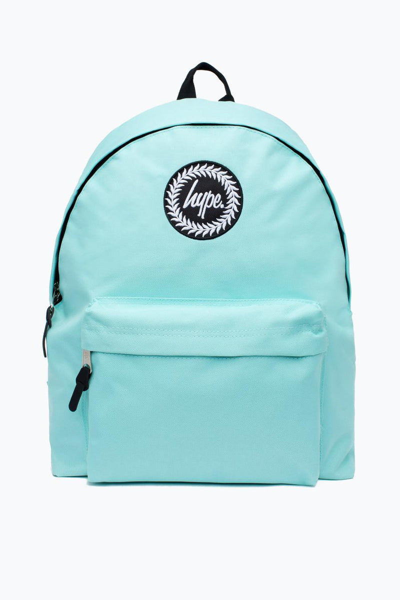 HYPE BADGE BACKPACK RUCKSACK BAG - MINT