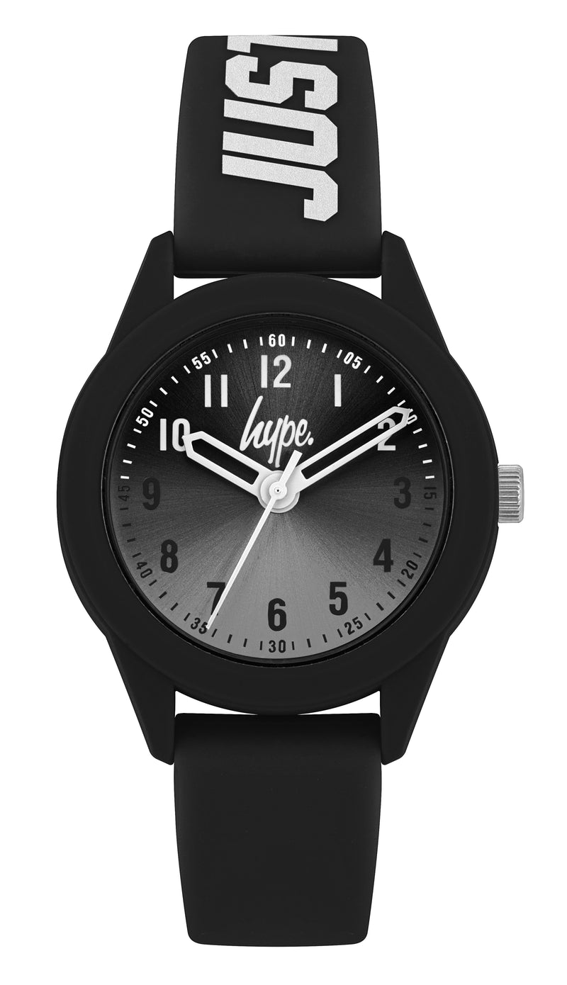 Kids Black Soft Touch Watch