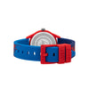 Red/Blue Paint Drip Kids Watch