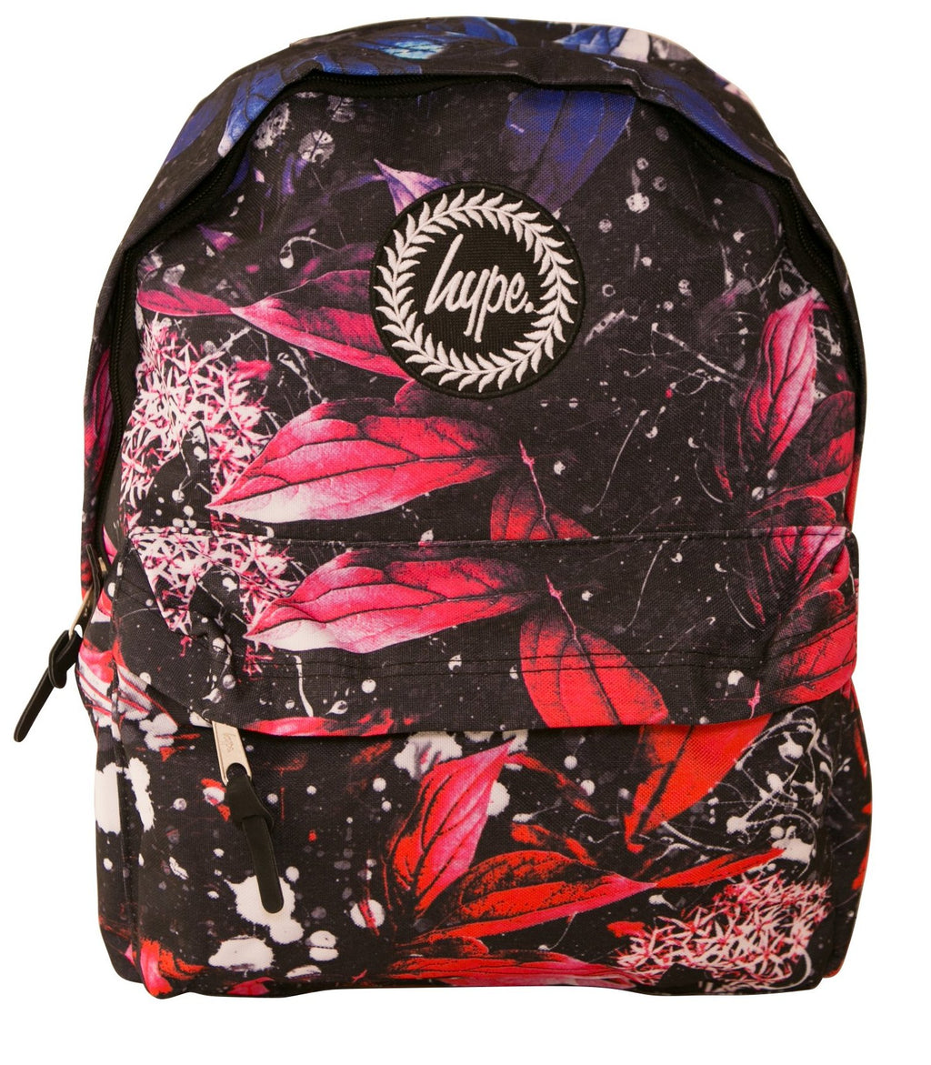 HYPE FLORAL SPECKLE BACKPACK RUCKSACK BAG - MULTI