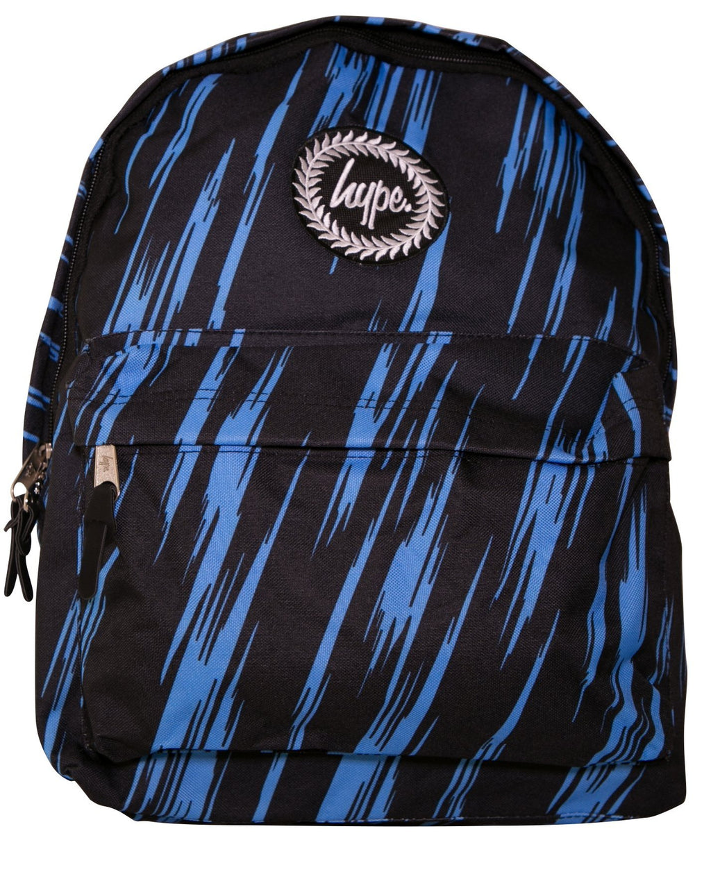 HYPE FLURO POWER BACKPACK RUCKSACK BAG - BLUE/MULTI