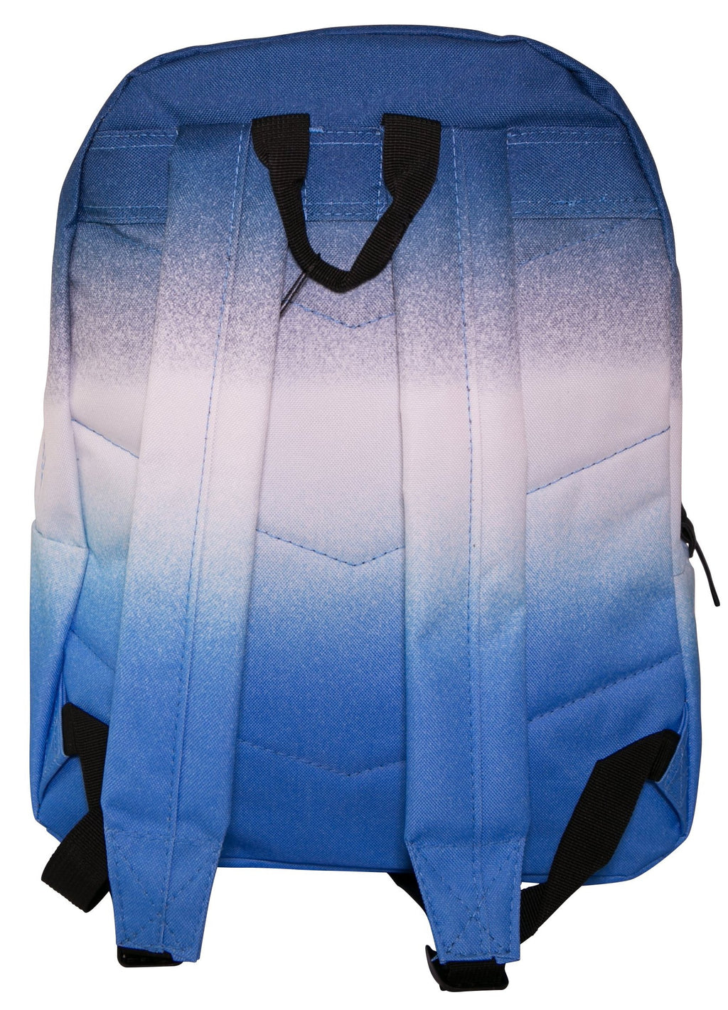 HYPE DOUBLE FADE BACKPACK RUCKSACK BAG - BLUE/WHITE/NAVY