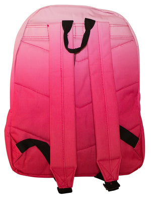 HYPE PINK FADE BACKPACK RUCKSACK BAG - PINK
