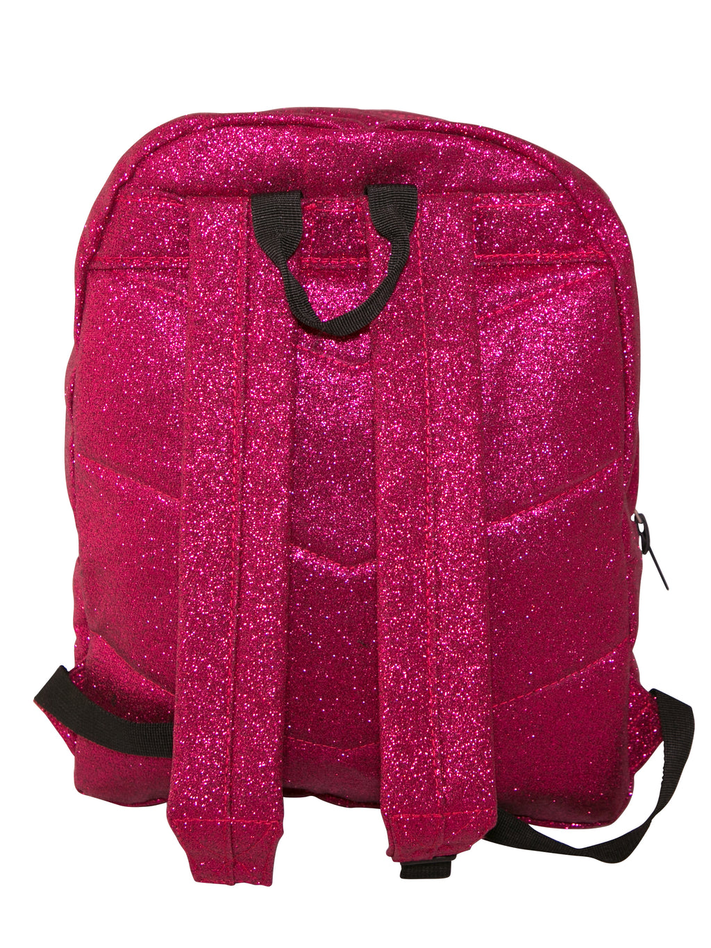 HYPE PINK GLITTER BACKPACK RUCKSACK BAG - PINK