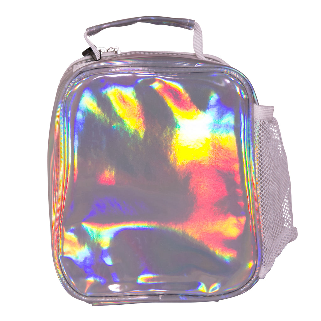 HYPE HOLO LUNCH BOX - SILVER