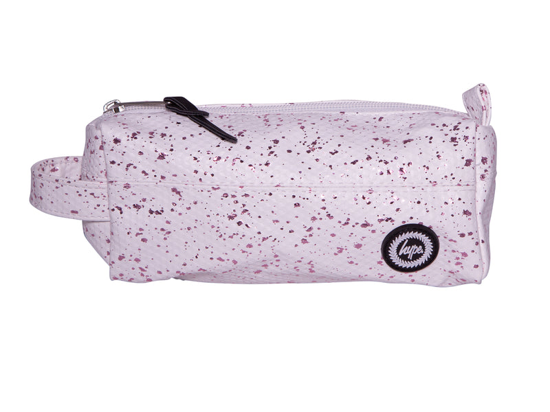 HYPE FLAKES PENCIL CASE - WHITE/ROSE