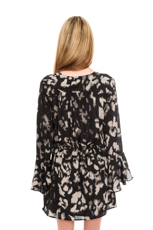RELIGION STAGE TUNIC DRESS - REBEL PRINT