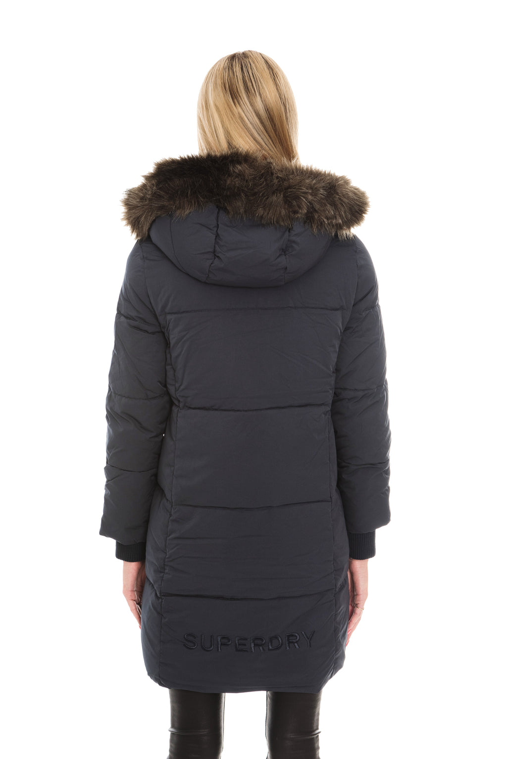 SUPERDRY COCOON PARKA JACKET - SUPER DARK NAVY