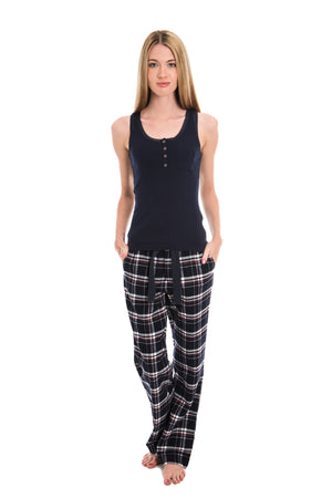 SUPERDRY EMILY RIB LOUNGEWEAR VEST - MIDNIGHT NAVY