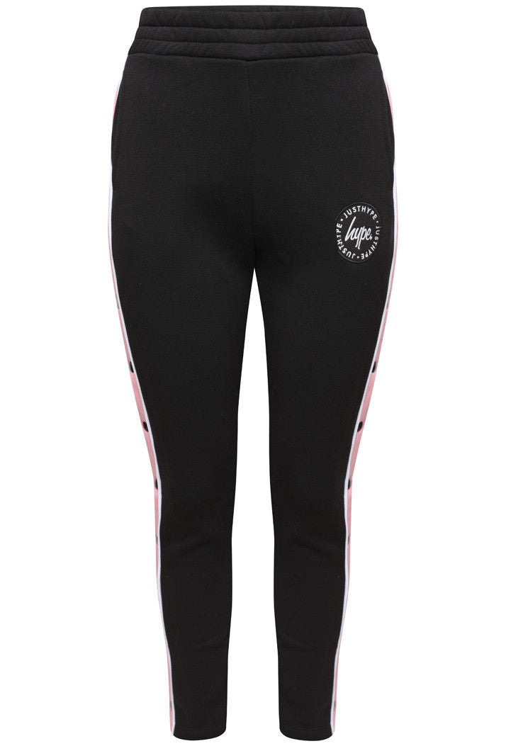 HYPE POPPER JOGGERS - BLACK/PINK