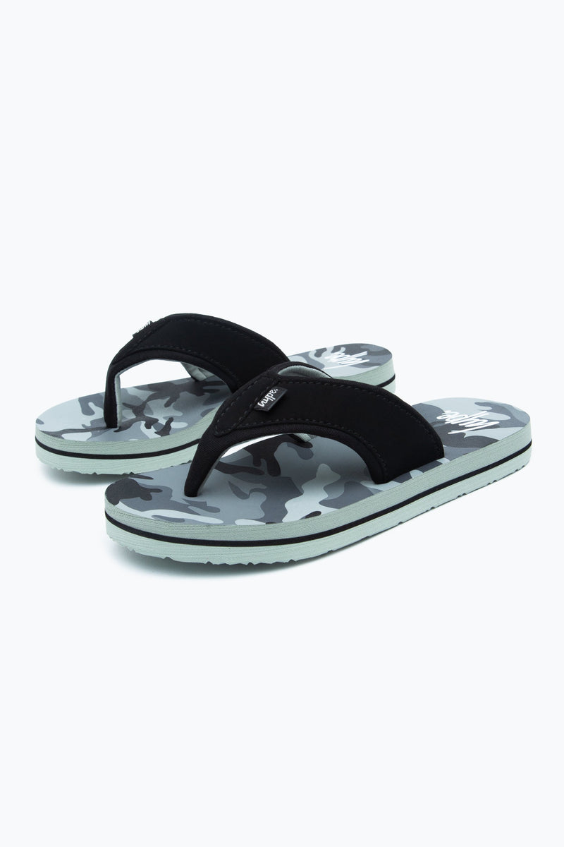 Civil Camo Kids Foam Flip Flops
