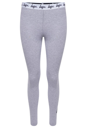HYPE TAPED LEGGINGS - GREY