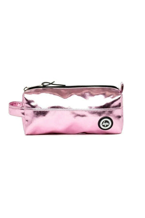 HYPE AZALEA METALLIC PENCIL CASE - PINK