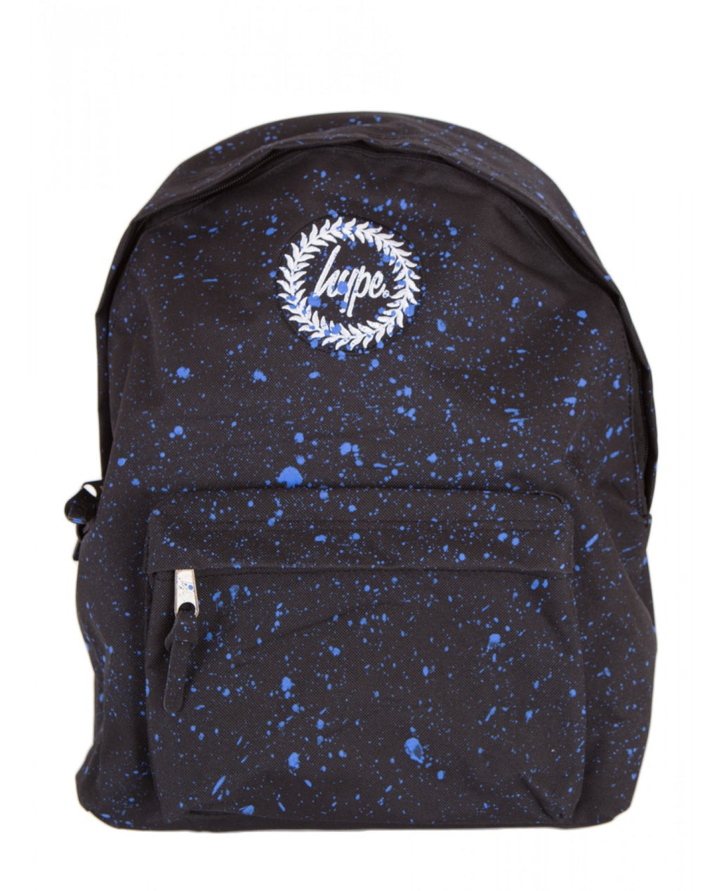 HYPE SPECKLE BACKPACK RUCKSACK BAG - BLACK/NAVY