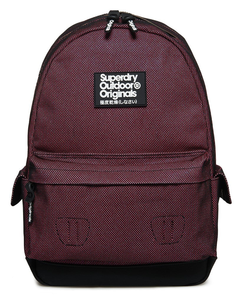 SUPERDRY GLITTER MONTANA BACKPACK - PINK