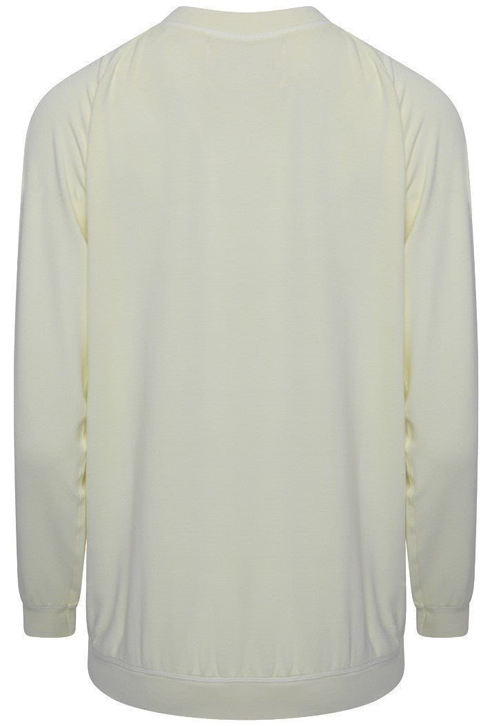 A POSTCARD FROM BRIGHTON STAR SWEAT TOP - LEMON CHIFFON