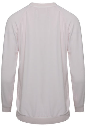 A POSTCARD FROM BRIGHTON STAR SWEAT TOP - MILKY ROSE