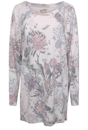 A POSTCARD FROM BRIGHTON FAITH SWEAT TOP - MILKY ROSE