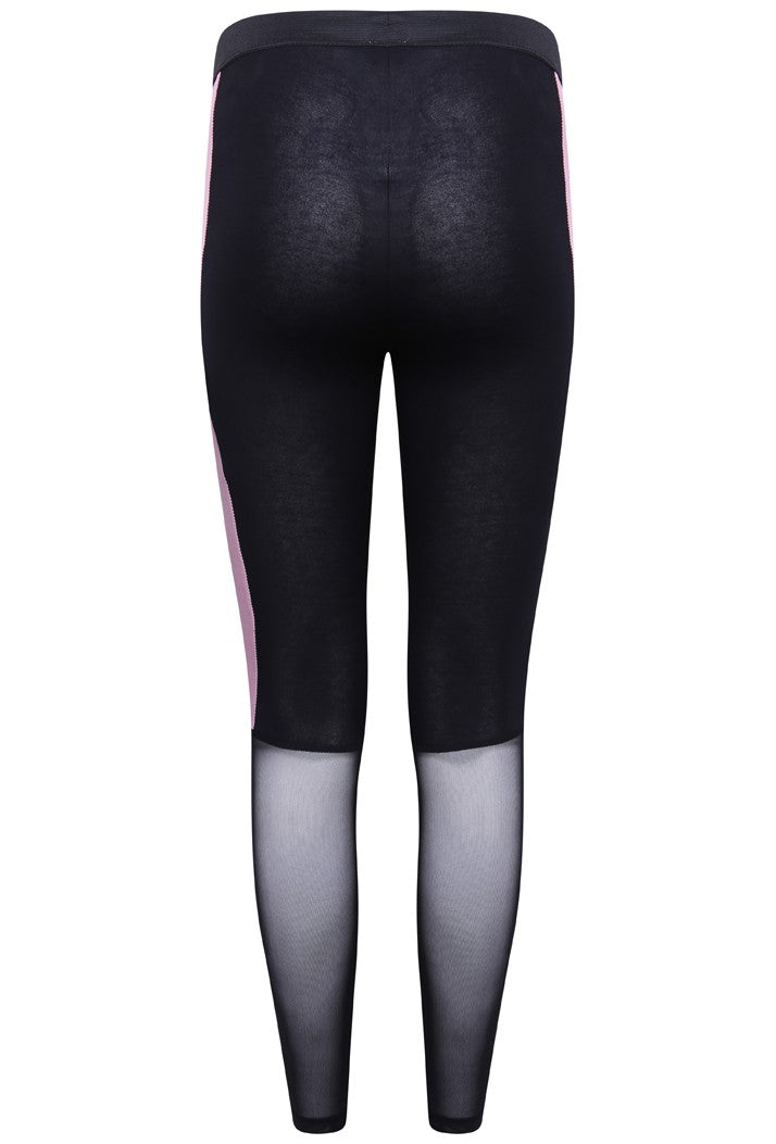 HYPE FMG MESH LEGGINGS - BLACK