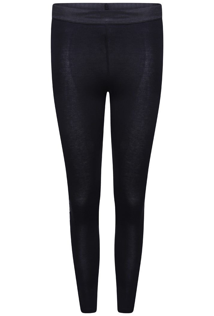 HYPE OUTLINE LEGGINGS - BLACK/WHITE