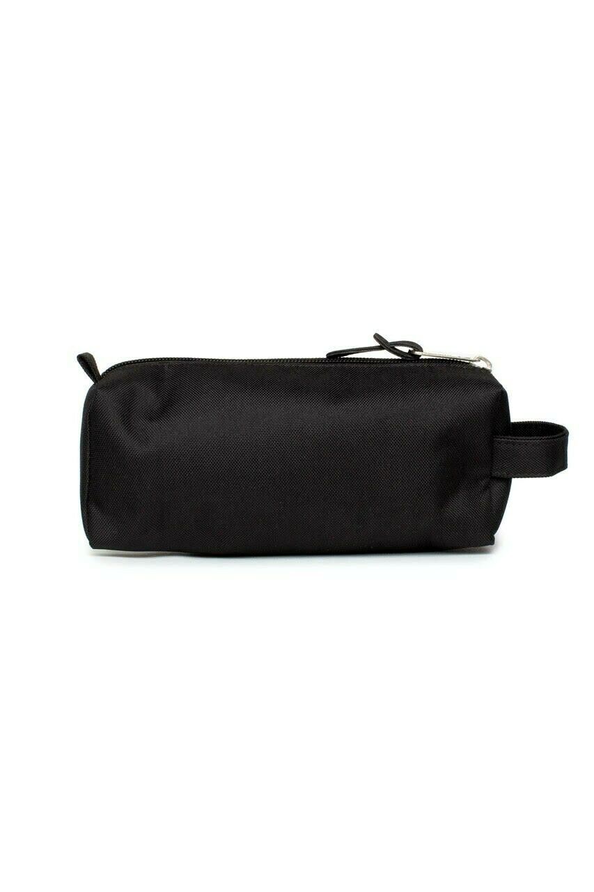 Black Script Pencil Case