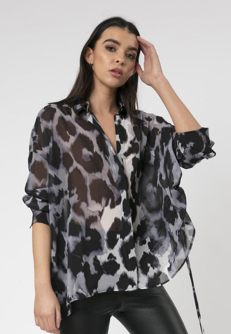Creation Shirt Panthera Print