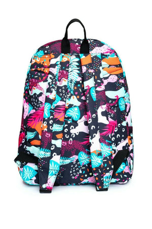 Leopard Camo Backpack