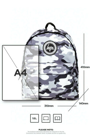 Mono Camo Backpack