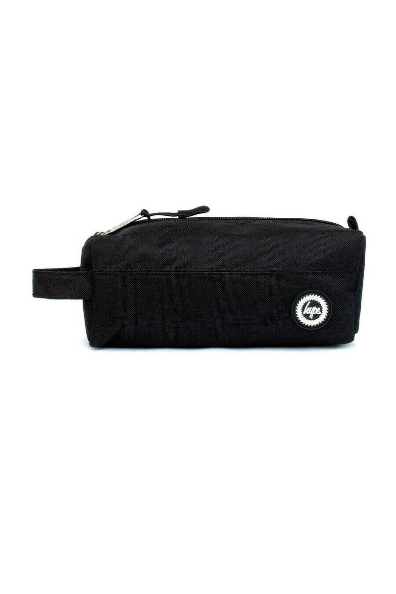 HYPE MINI CREST PENCIL CASE - BLACK