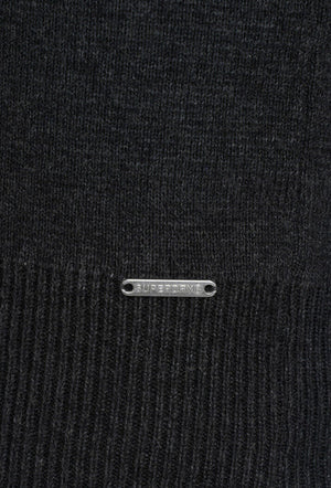 Orange Label Henley Jumper - Flannel Grey