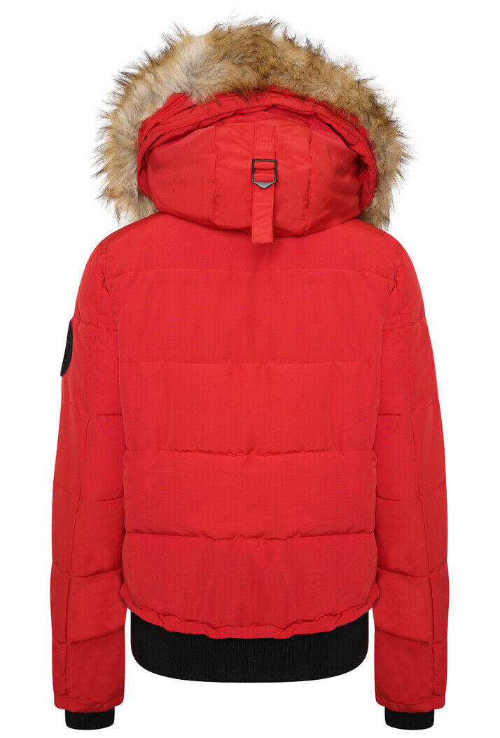 Everest Bomber Jacket - High Risk Red