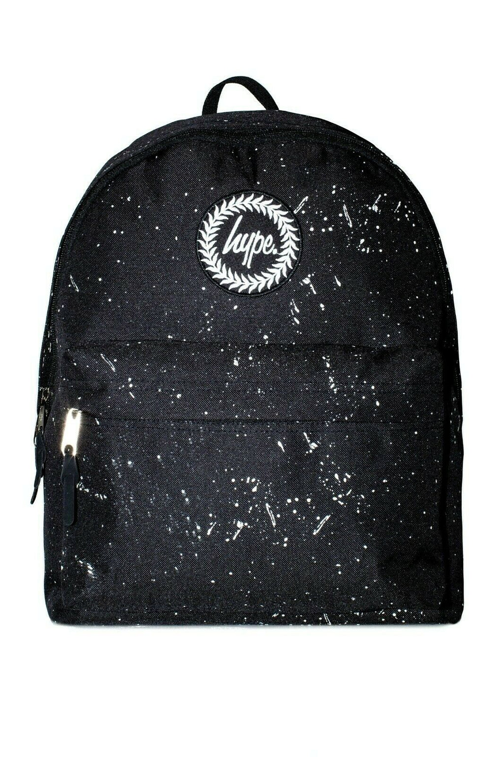 HYPE REFLECTIVE SPECKLE BACKPACK RUCKSACK BAG - BLACK