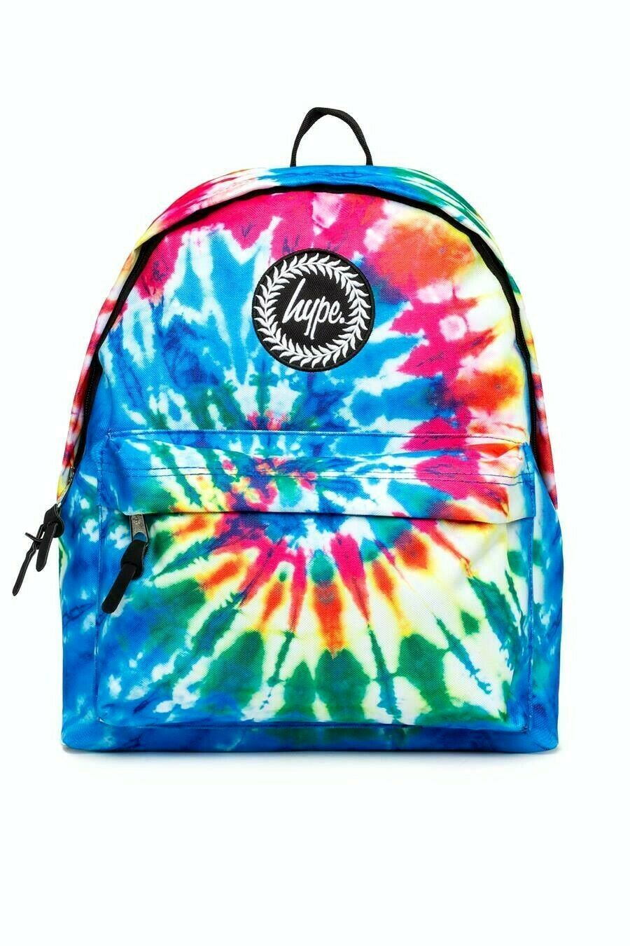 HYPE TIE DYE BACKPACK RUCKSACK BAG - MULTI