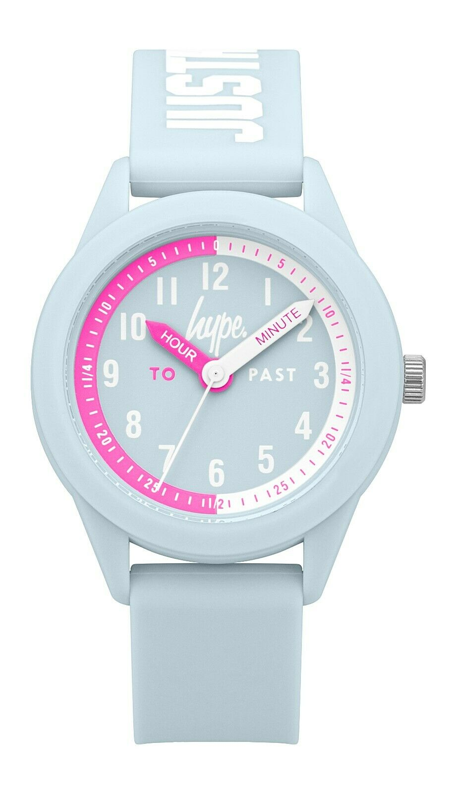 Kids Pale Blue Soft Touch Watch