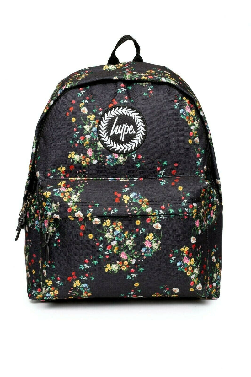 Ditsy Floral Backpack - Black