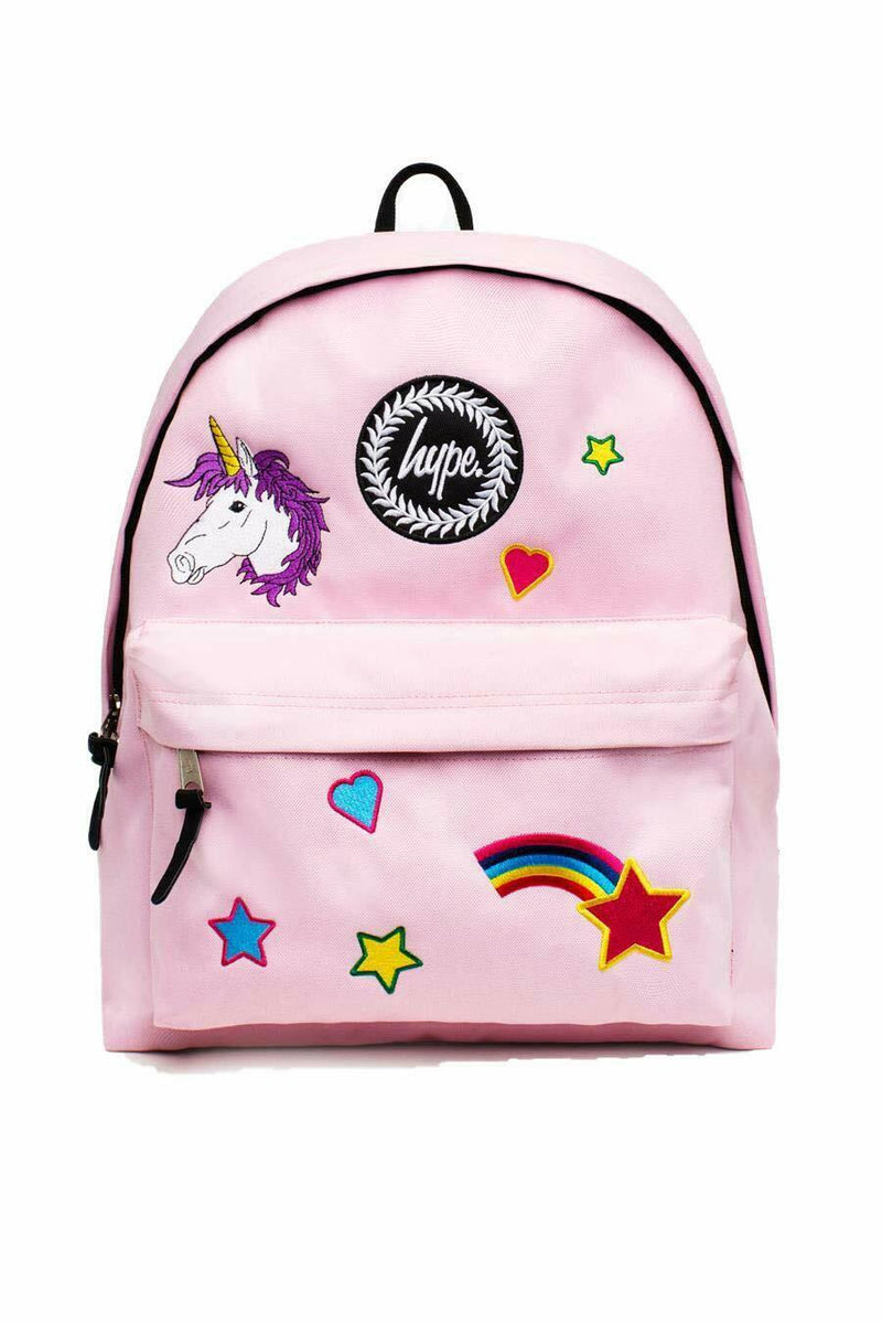 Pink Star Backpack - Pink