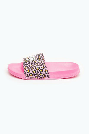 Disco Leopard Kids Sliders