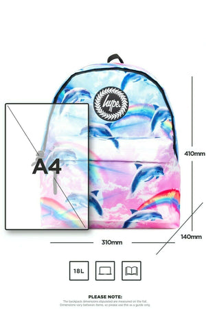 Dolphin Cloud Backpack - Multi