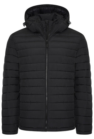 Hooded Fuji Jacket - Black