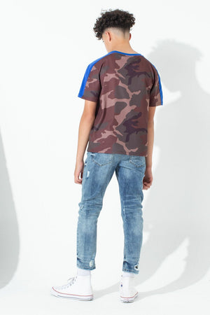 Northern Camo Print Kids T-Shirt