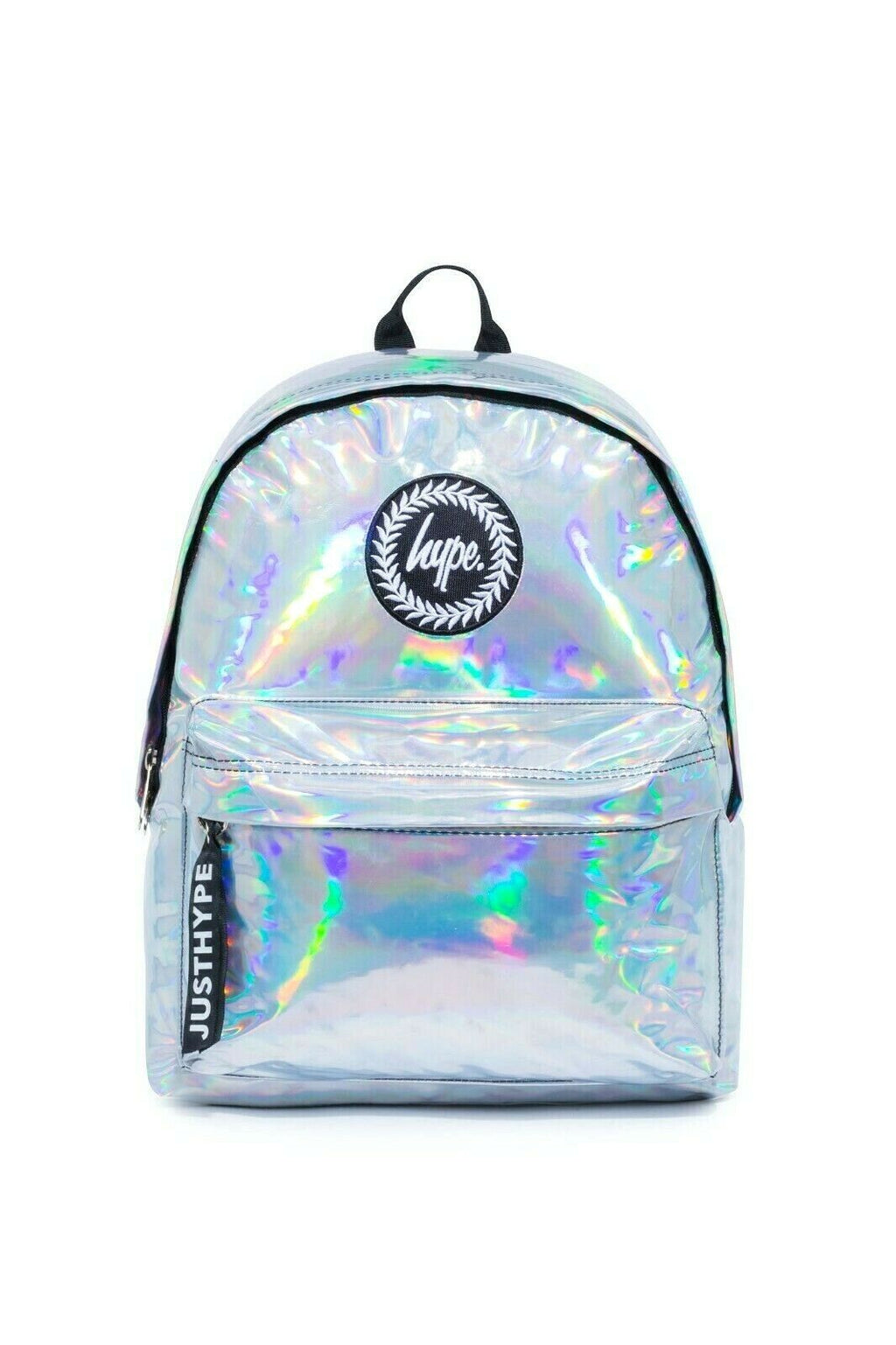 HYPE HOLO MINI BACKPACK RUCKSACK BAG - SILVER