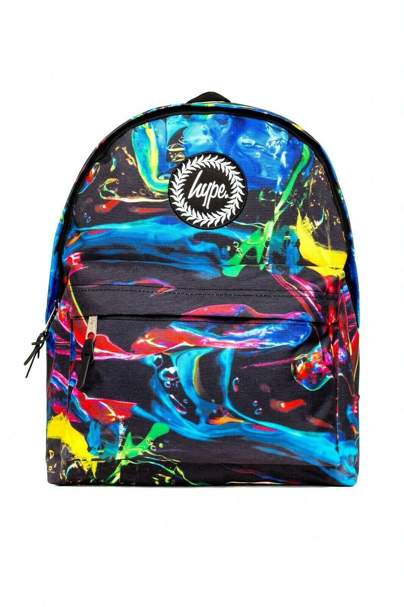 HYPE COLOUR RUN BACKPACK RUCKSACK BAG - MULTI