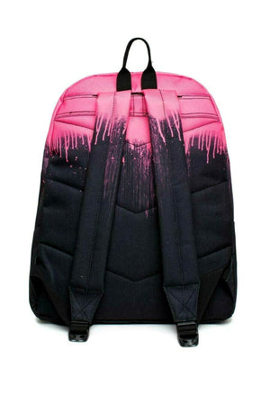 Drips Backpack - Pink/Black