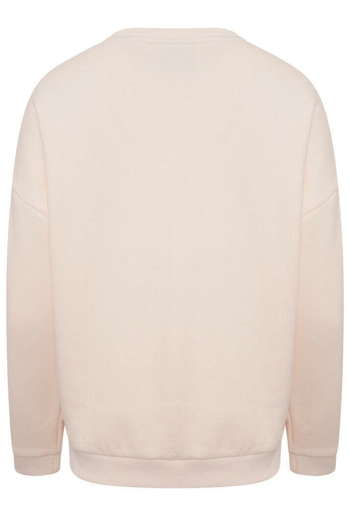 Established Crew Sweatshirt - Bright Blush